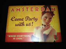"""Amsterdam"" Collectible Tin Box From Blue Q"