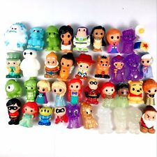 random 10Pcs Ooshies Disney Princess Monster collect figure cute baby doll gift