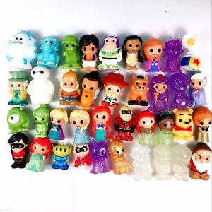 10PCS Ooshies Disney Princess Monster Cinderella Beast Serie 1 Figure Toy Random