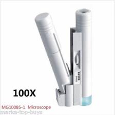 MG10085-1 100X LED Portable Dual-tube Microscope Magnifier Measurement Range 0-2
