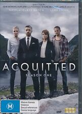 Acquitted Season One 1 DVD NEW Lena Endre Nicolai Cleve Broch Region 4