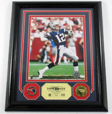 Tom Brady Framed Display Photo Pin Coin Highland Mint /512 DF025572
