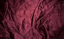 tissu suedine daim velours col prune camel 50x135 cm