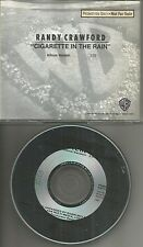 RANDY CRAWFORD Cigarette in the rain PROMO Radio DJ CD single 1989 MINT USA