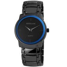Messing runde Armbanduhren mit 12-Stunden-Zifferblatt für Herren