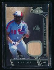 TIM RAINES 2015 TOPPS TIER ONE RELIC #TSRTR JERSEY 155/299 *MONTREAL EXPOS*