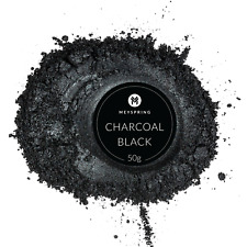 MEYSPRING Charcoal Black Mica Powder for Epoxy - Resin Color Pigment - Resin Dye