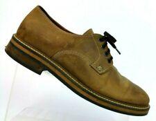 Wolverine 1883 Javier Tan Leather Plain Toe Derby Oxford W00765 Men 8.5 EUR 41.5