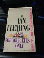 Ian Fleming For Your Eyes Only 1960 Signet Edition paperback JAMES BOND