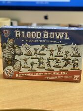 Blood Bowl Necromantic Horror Team Brand New