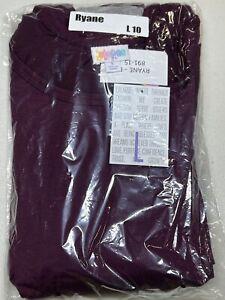 LuLaRoe Ryane Long Sleeve Empire Waist Dress Size Large 10