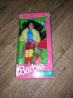 Barbie United Colors of Benetton Kira Doll Mattel Vintage 1990 Doll #9409