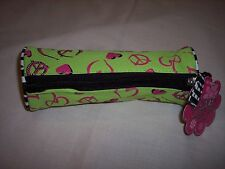 "Three Cheers for Girls Pencil Case: Zebra,  8"" x 3"""