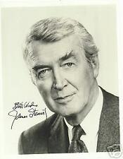 JIMMY STEWART HARVEY The Philadelphia Story Vertigo AUTOGRAPHED 8 X 10  PHOTO