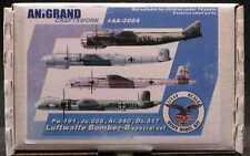 Anigrand 1/144 LUFTWAFFE BOMBER SPECIAL SET