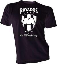 Rayados de Monterrey Mexico Futbol Soccer T Shirt Camiseta Jersey tee shirt