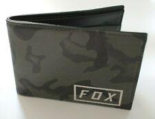 Fox Racing Camo Bifold Wallet Camo Unisex Adult