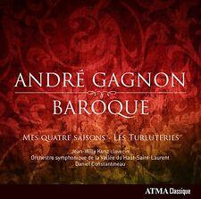 JeanWilly Kunz - Gagnon Mes Quatre Saisons  Les Turluteries [CD]