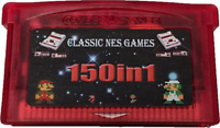 Classic NES Games 150-in-1 GBA Cartridge, US Seller. Repro