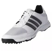 New Adidas Tech Response Men's Golf Shoes White/Silver/Black Size 8 FSTSHP