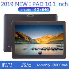 tablet PC da 10.1pollici Octa Core 4+64G Android 6.0 WiFi Bluetooth Doppia SIM