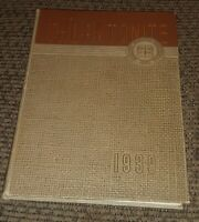 Yearbook Thornton Township High School Harvey Illinois 1939 Thorntonite book VTG
