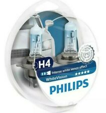 Philips WhiteVision H4 Car Headlight Bulb 12342WHVSM (Twin)