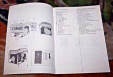 SUZUKI Owner's Manual SV1800/ 1800D  SV2200/ 2200D Generators