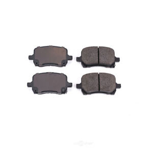 Disc Brake Pad Set-Front Z16 Low-Dust Ceramic Brake Pads Front Power Stop