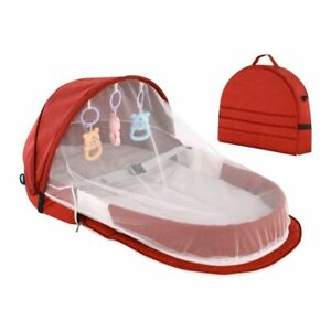 Baby Bed Portable Nest Sleeping Travel Bed Sun Protection Mosquito Net Bassinet
