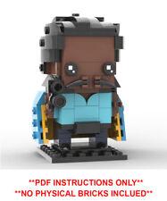 Lego Star Wars Brickheadz -Lando Calrissian Custom MOC - PDF INSTRUCTIONS ONLY
