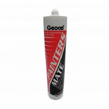 310ml Geocel Painters Mate Decorators Caulk Flexible Filler White 1 Hour