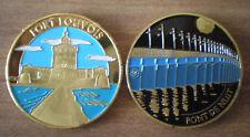Medal Tourism Color France Oleron Island Fort Louvois Bridge of Night Free Ship