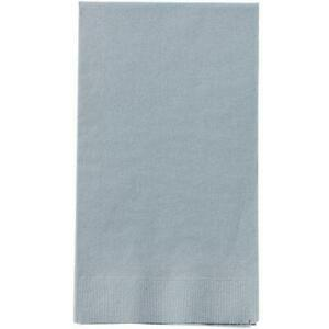 Silver Guest Towels 16 Count