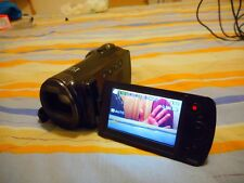 Videocamera digitale compatta Samsung SMX-F50BN zoom 65x con 2a batteria e borsa