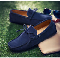 Men's Loafers Driving Moccasins Casual Soft Suede Penny Shoes Comfortable