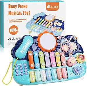 Musik Spielzeug Klavier Cartoon Telefon Geschichte Baby Früherziehung Spielzeug