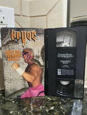 WCW Halloween Havoc What Will The Wheel Reveal 1992 Vhs Rare FormalRental Wwf