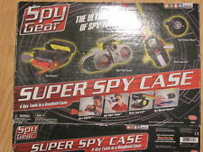 SPY GEAR: Super Spy Case: 4 Tools  (Complete w/ box & instructions)