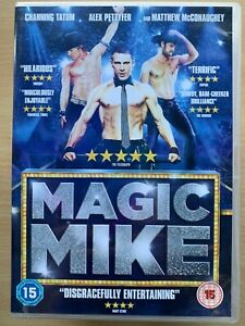 Magia Mike DVD 2012 Masculino Stripper Comedia Drama Película Con Channing Tatum