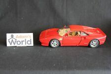 Bburago Ferrari 288 GTO 1:18 red (PJBB)