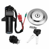 Ignition Switch Gas Cap Cover Seat Lock Keys Kit For Yamaha YBR125 YBR 125 07-14