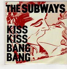 (GS681) The Subways, Kiss Kiss Bang Bang - 2011 DJ CD