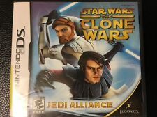 Star Wars: The Clone Wars Jedi Alliance (Nintendo DS) Complete, Works Great!