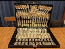 New listing Wm. Rogers & Son Goldplated Silverware 51 Pc.
