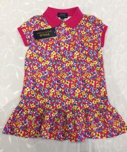 Polo Ralph Lauren Girl's Floral Dress (3 Years)