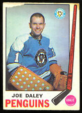 1969 70 OPC O PEE CHEE #152 JOE DALEY LG-VG PITTSBURGH PENGUINS HOCKEY CARD