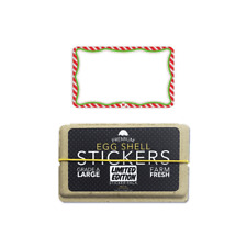 Egg Shell Stickers Holiday Blanks