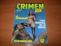 CÓMIC CRIMEN Nº88 (EDICIONES ZINCO AÑOS 80 BUEN ESTADO)