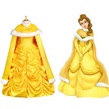 Adult Halloween Princess Belle Costume Beauty and The Beast Fancy Cape Only
